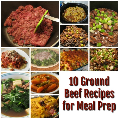 10 Ground Beef Recipes for Meal Prep is a great way to use ingredients, especially when it is on sale, to make several homemade meals with awesome flavors.