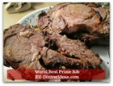 Beef Recipes - World's Best Prime Rib