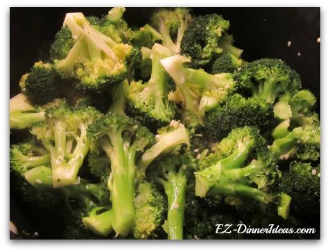 Vegetarian Recipes - Simply Sauteed Broccoli