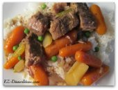Slow Cooker Recipes - Beef and Vegetable Stew