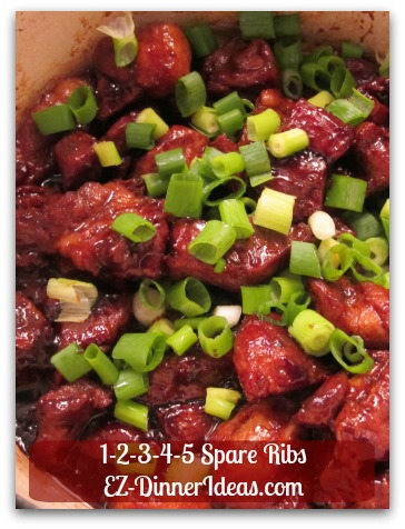 Chinese Pork Rib Recipe | 1-2-3-4-5 Spare Ribs - Sticky And Mouth-Watering Ribs Ready In An Hour