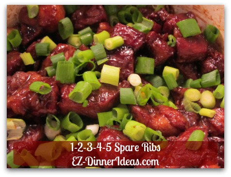 1-2-3-4-5 Spare Ribs - Traditional Chinese family recipe is in your finger tips