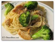 Chicken Scampi Spaghetti