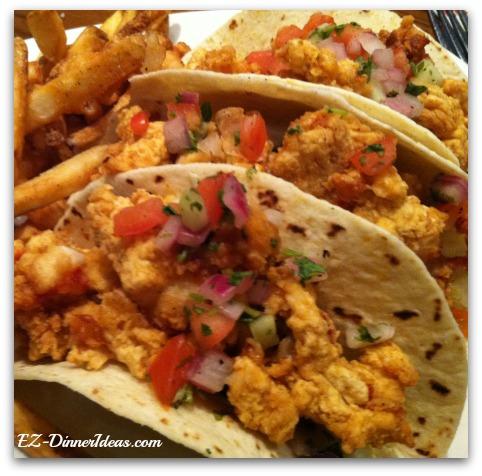 Outback Steakhouse Crispy Lobster Taco