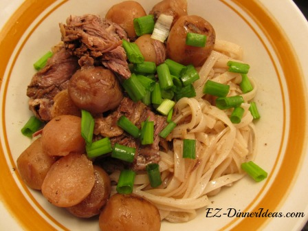 Chinese Traditional Brisket