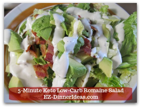 Romaine Lettuce Salad Recipe - ENJOY!