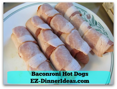 Baconroni Hot Dogs - Ready to rock 'n roll