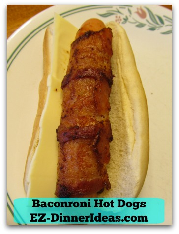 Baconroni Hot Dogs - Can't wait, can't wait......
