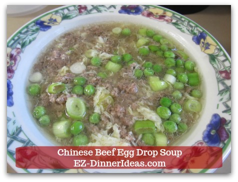 Easy ground beef meal is a Chinese traditional soup recipe which is quick, easy, yummy and filling.  Now, it is your next low carb meal.