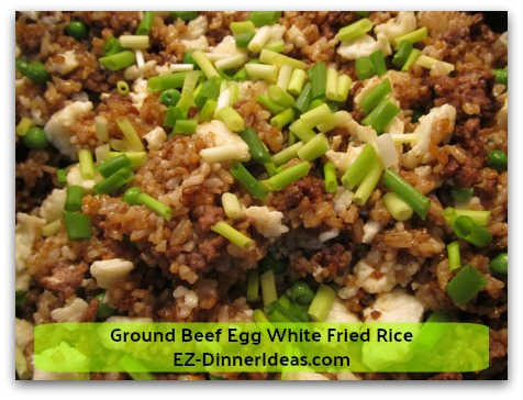 Ground Beef Egg White Fried Rice A Recipe Originated In The Early 2000s With A New Look