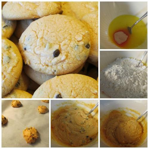 Box Cake Orange Chocolate Chip Cookies 5 Pantry Ingredients Easy, But Fancy Dessert
