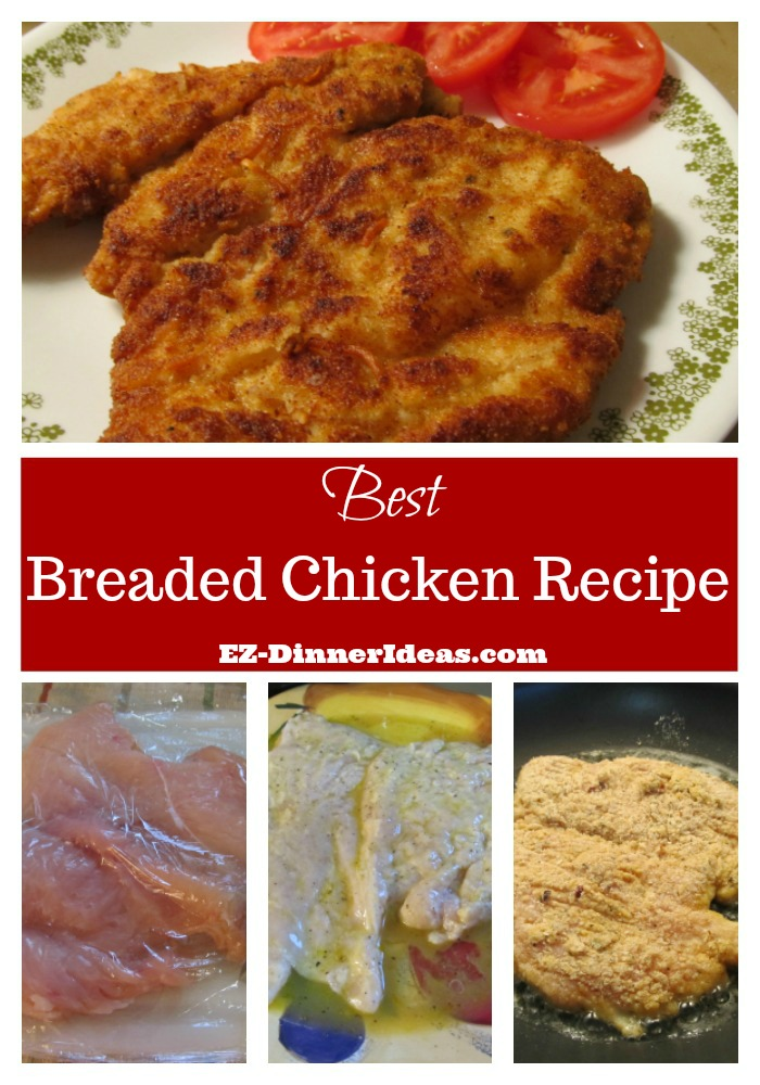 Breaded chicken recipe is popular.  But this is the best and tastiest that you had ever had.  Hands down.