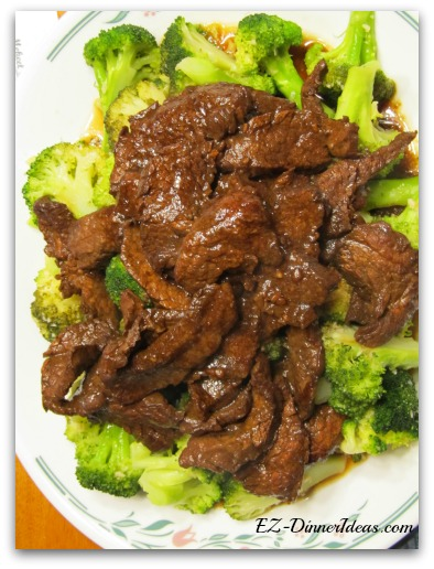 Easy Beef Stir-Fry with Sauteed Broccoli