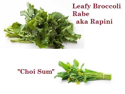 Leafy Broccoli Rabe, aka