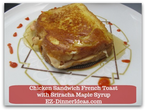 This savory French toast recipe is an East-meet-West quick and easy meal.  It is sweet, but sassy.  What not to love?