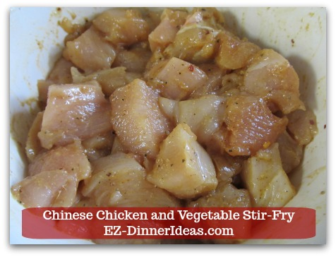 Chicken Stir-Fry Recipe | Chinese Chicken and Vegetable Stir-Fry - Toss to coat.