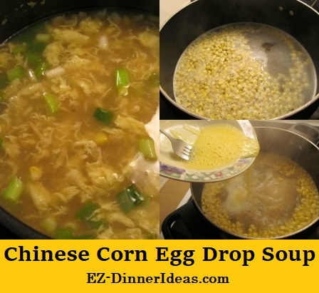 Chinese Corn Egg Drop Soup
