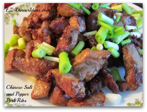 Chinese Salt and Pepper Pork Ribs, the Asian style of salt and pepper is so aromatic and addictive that you will want it over and over again.