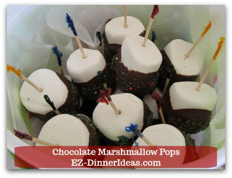 This chocolate marshmallow recipe is a foolproof way to make adorable dessert.  It is great for party and even gifts during holiday seasons.