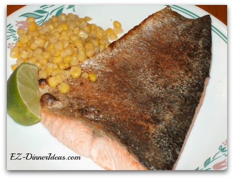 Citrus Spicy Baked Salmon