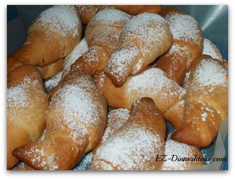 Coconut Croissants
