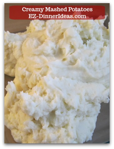 Creamy mashed potatoes, a classic recipe shows you the steps of back to basic.  An awesome side dish that goes with any feast.