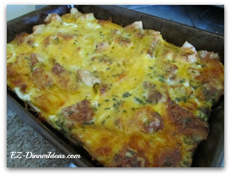 English Muffin Breakfast Casserole