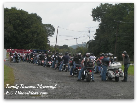 Family Reunion Motorcyclist Parade for a good cause