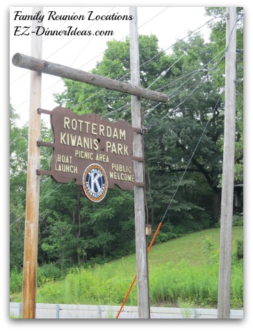 Many boat launch places have picnic area, BBQ places, big field, hiking trail and more.  They are all perfect as family reunion sites.  Just look for the sign.