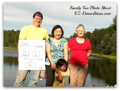 Family Tree and Photo Shoot
