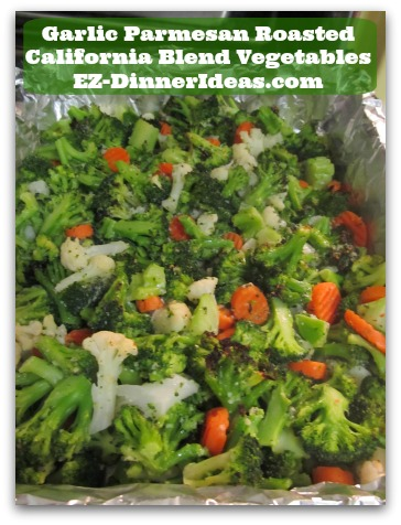 5 Must-Cook Frozen California Blend Vegetables Recipes - Garlic Parmesan California Blend Vegetables