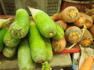 Green carrots