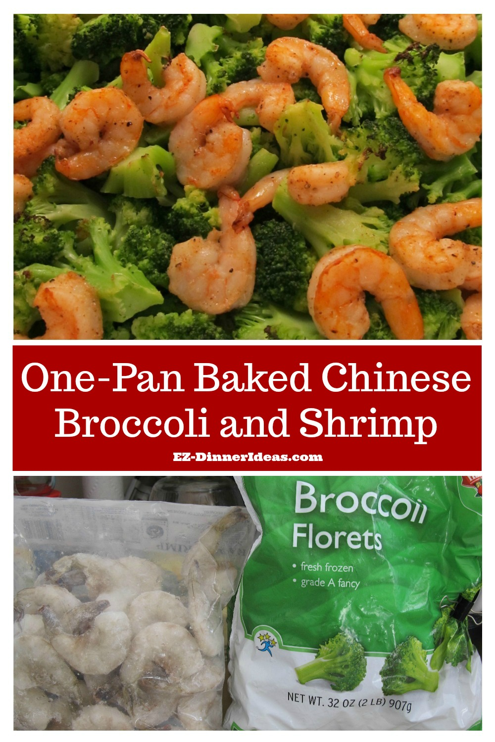 A healthy family dinner with one-pan Chinese broccoli and shrimp sounds delicious and too good to be true?  Well, once you tried it, you swear you are doing it again and again.