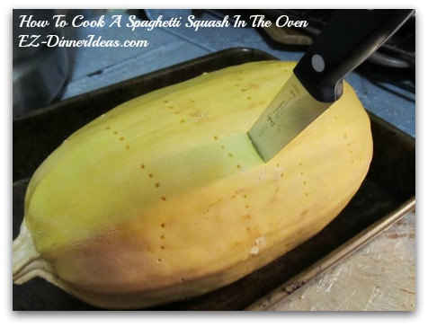 If not, bake it for another 10 minutes again until the pairing knife can go through the squash easily.  Repeat this step until the squash is cooked through