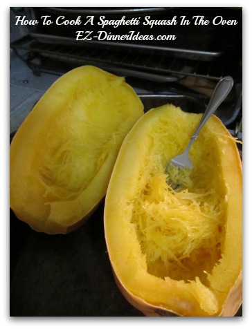 How To Cook A Spaghetti Squash In The Oven