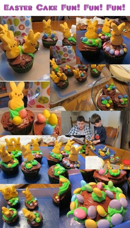 Easter Bunny Cupcake Decoration