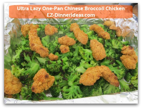 Ultra Lazy One-Pan Chinese Broccoli Chicken - Everything will be done in 40 minutes in the oven