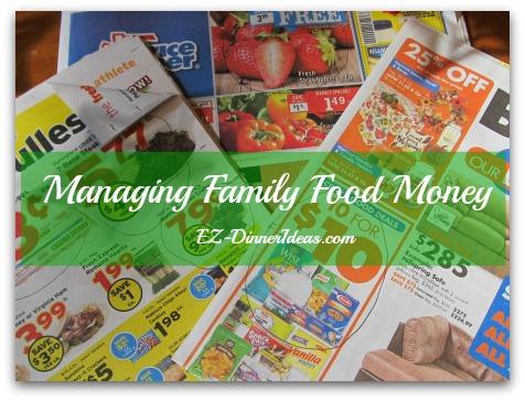 Managing Family Food Money