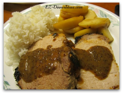 Maple Mustard Pork Loin