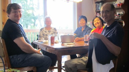 Importance of Family Dinner- Sitting together on the table