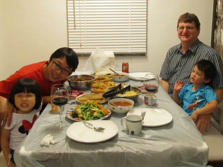 Dining table is where you have your family meals every day.