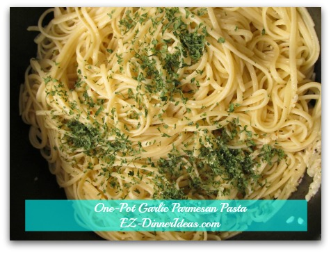 One-Pot Garlic Parmesan Pasta