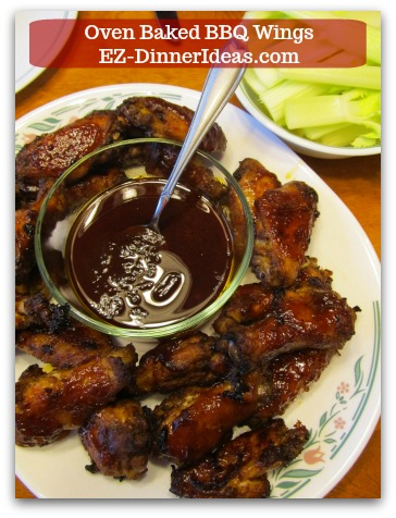Oven Baked BBQ Wings