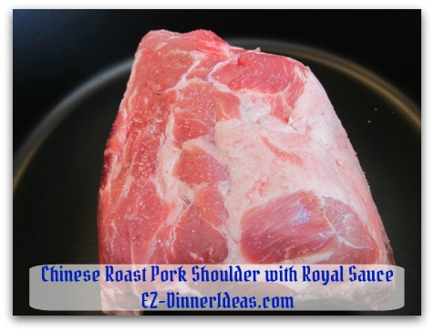 Crockpot Pork Roast Recipe - Brown meat on skillet