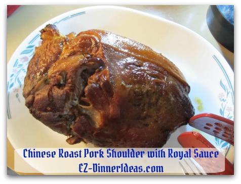 Crockpot Pork Roast Recipe - Let meat rest for 10 minutes before carving