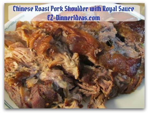 Crockpot Pork Roast Recipe - Trim fat before carving