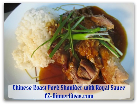Crockpot Pork Roast Recipe   Chinese Style with Royal Sauce