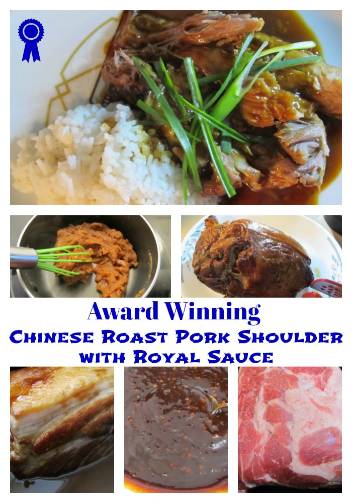 Award Winning Chinese Roast Pork Shoulder with Royal Sauce
