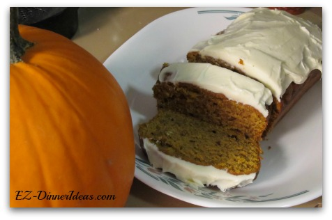 Easy and Moist Pumpkin Spice Bread