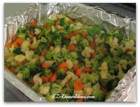 Roasted California Blend Vegetables
